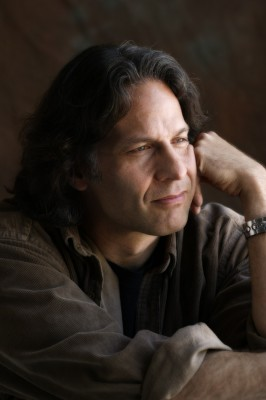 Thoughtful portrait of recording artist Kurt Bestor by advertising photographer Derek Smith