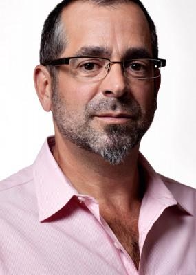 photograph of handsome man wearing fashion eyewear by Salt Lake Advertising photographer Derek Smith